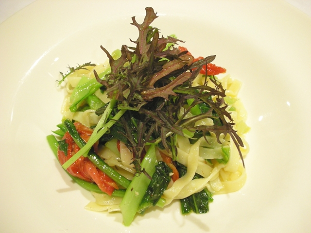 季節の野菜を使って