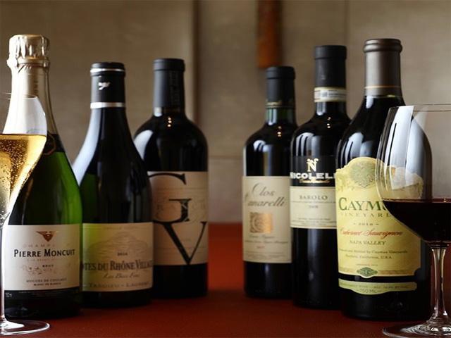 様々なワインとご一緒にご堪能下さいませ。