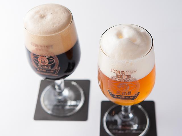 クラフトビールも永久免許を取得し自社で醸造しております。
