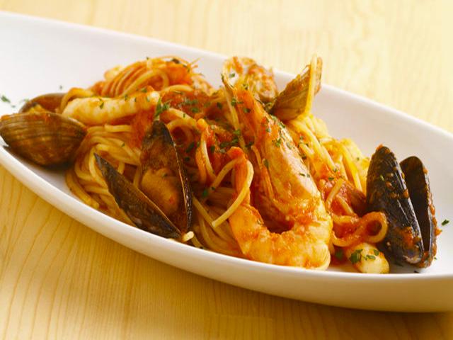 魚介の旨味がしっかり絡んだスパゲッティーニです。