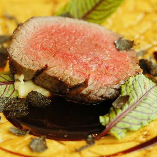 シェフオススメ 黒毛和牛ヒレ肉のソテー
