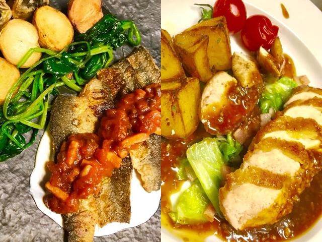 お魚にお肉、様々なアラカルトをご用意しております。