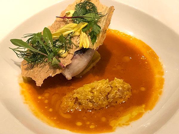 (お魚料理)日本各地の漁港から届いた鮮魚料理 コショウダイのスープドポワソン仕立て