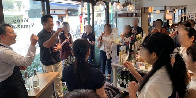 【イベントレポート】ワイノミ部がスタート!サクラアワード受賞ワインをペアリング(10/5 中目黒・ビストロボレロ)