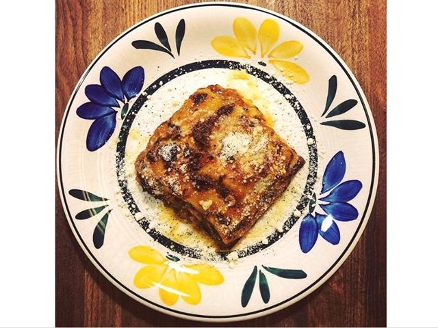 限定 「ラザーニャ 」 チーズがたっぷり入り、何層にも重ねた自家製ミートソースがたまらない一品