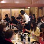 大阪・北新地で持ち寄りワイン会を開催!テーマは「和食にあうワイン」