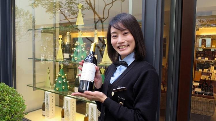 ワインショップ・エノテカ 広尾本店 ソムリエール 小林さん