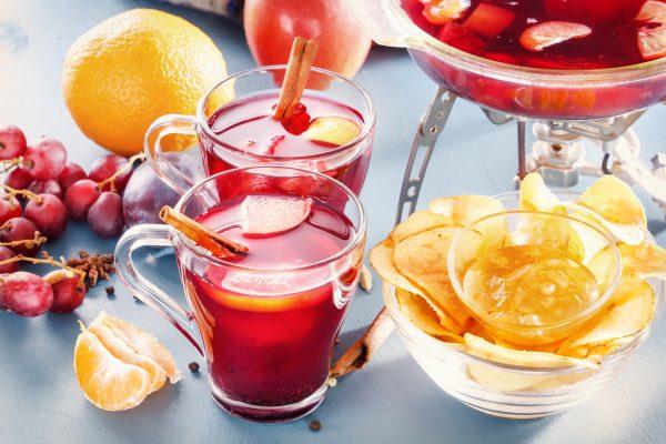 果物をたっぷり使ったグリューワイン