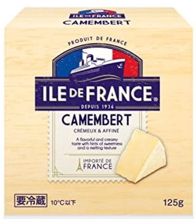 イル・ド・フランス カマンベール商品画像