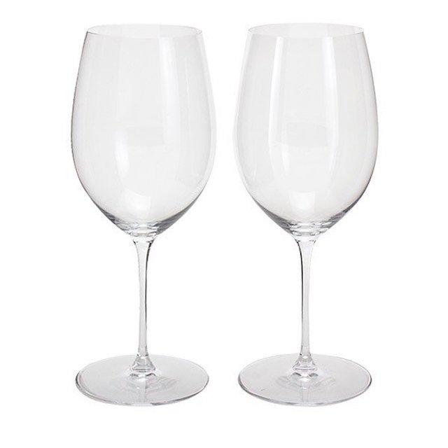 フルボディ赤ワイン用グラス2脚
