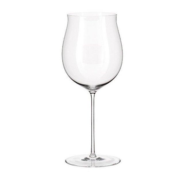 ステムが細いブルゴーニュ赤ワイン用グラス1脚
