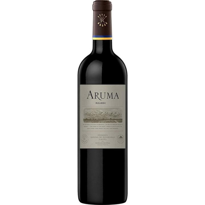 アルゼンチン産の赤ワイン「カロ アルマ マルベック」のボトル