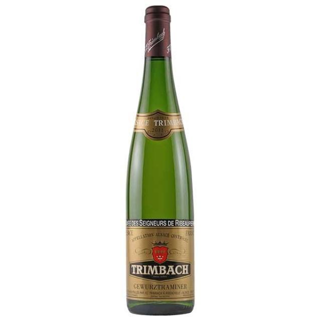 トリンバック「ゲヴュルツトラミネール・キュヴェ・デ・セニュール・ド・リボピエール」のボトル