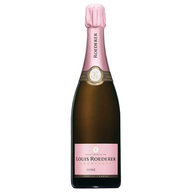 ルイ・ロデレール「ブリュット ヴィンテージ ロゼ」のボトル