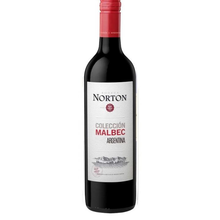 「ボデガ・ノートン コレクシオン・マルベック」のワインボトル