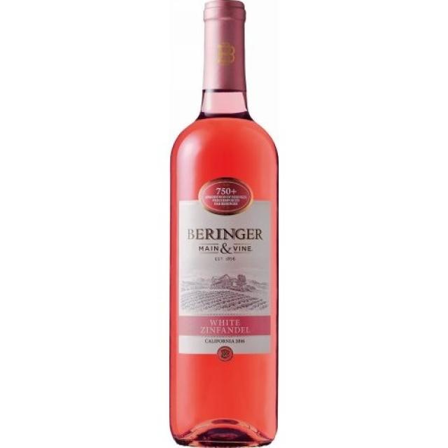 ベリンジャー・ヴィンヤーズ「カリフォルニア・ホワイト・ジンファンデル」のボトル