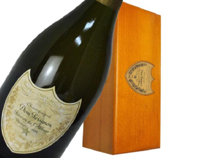 ドンペリ・レゼルブ・ド・ラベイのボトルと箱