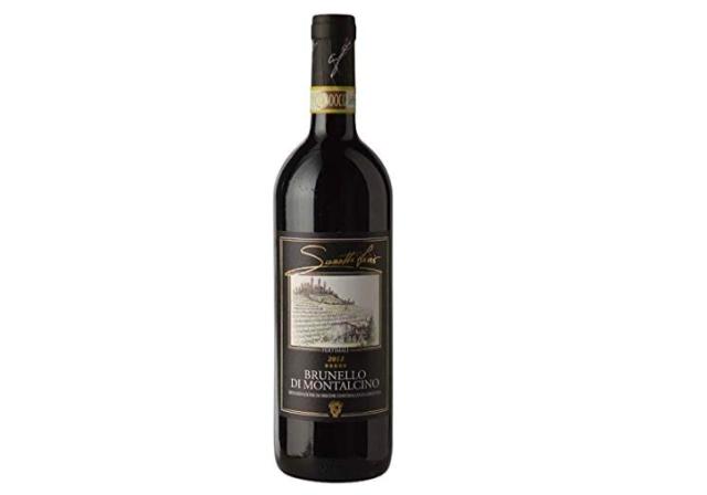 サセッティ リヴィオ ペルティマリ「ブルネッロ・ディ・モンタルチーノ」のボトル