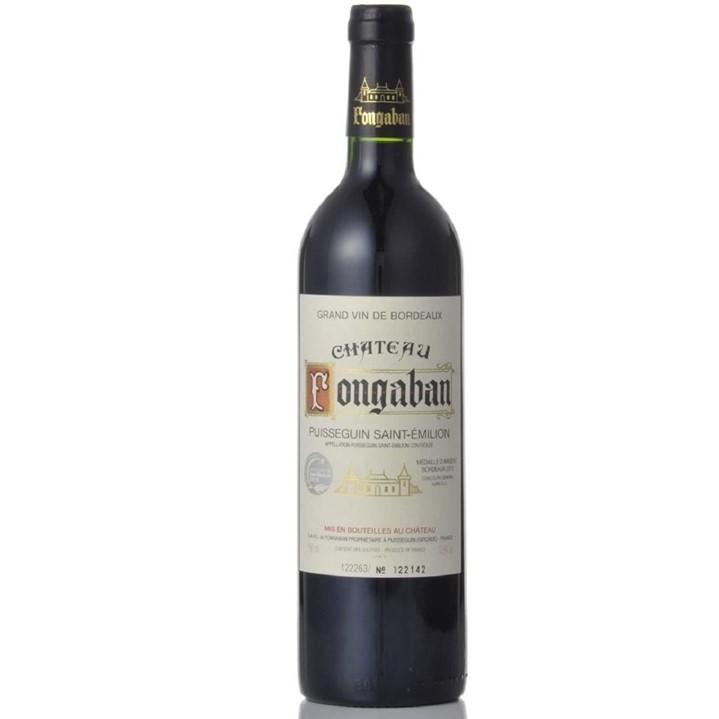 シャトー・フォンガバン・ピュイスガン・サン・テミリオンのボトル