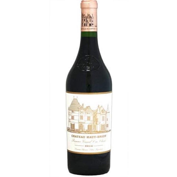 赤ワイン「シャトー・オー・ブリオン 2016」のボトル
