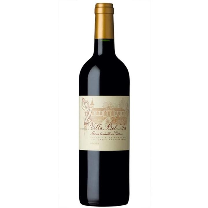赤ワイン「シャトー・ヴィラ ベレール ルージュ」のボトル