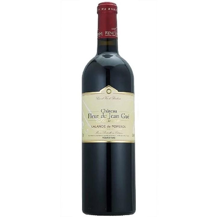 赤ワイン「シャトー・フルール・ド・ジャン・ゲイ レゼルヴ」のボトル