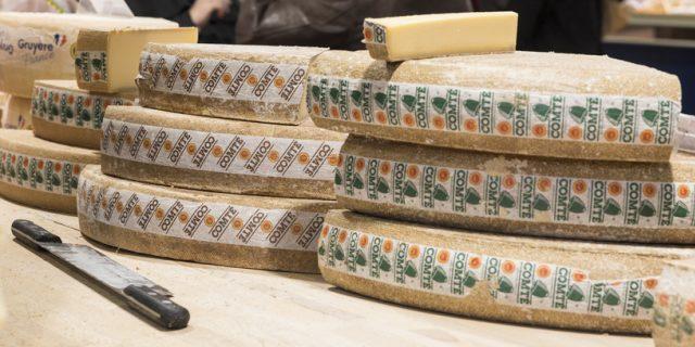 コンテチーズがお店に並ぶ