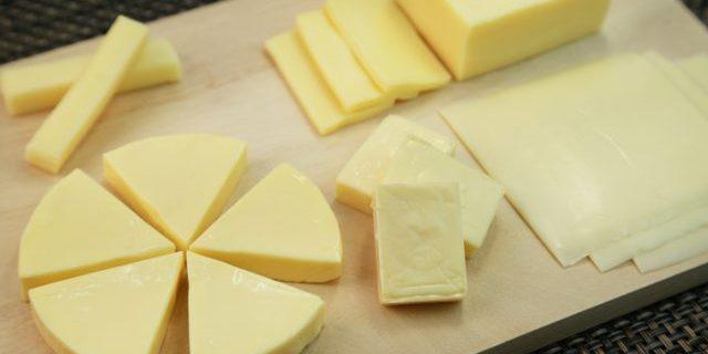 色々な種類のプロセスチーズ